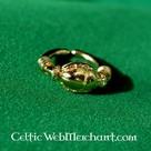 Egyptische ring met Scarabee