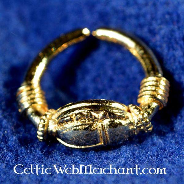 anillo egipcio con Scarabee