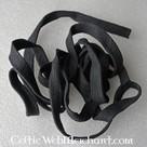 Bande de coton pour sabres de samouraï, noir