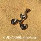 Triskelion in bronzo