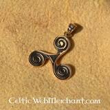 Bronzen triskelion