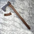 Short Bearded Axe, antiqued