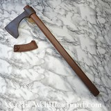 Short Bearded Axe, antiqued