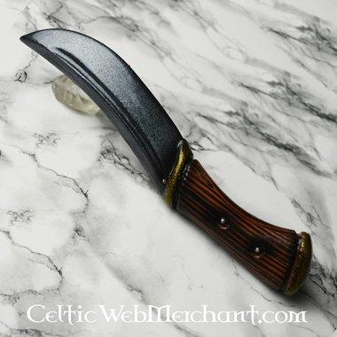 Cuchillo que lanza Hunter, arma LARP hecha de espuma