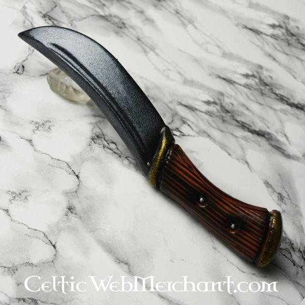 Epic Armoury Cuchillo que lanza Hunter, arma LARP hecha de espuma