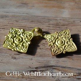 Twofold Viking brooch