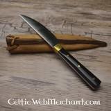 coltello mangiare medievale 15-16 secolo