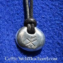 House of Warfare Agat rune sten sæt i læder taske