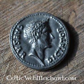 moneda de César romano