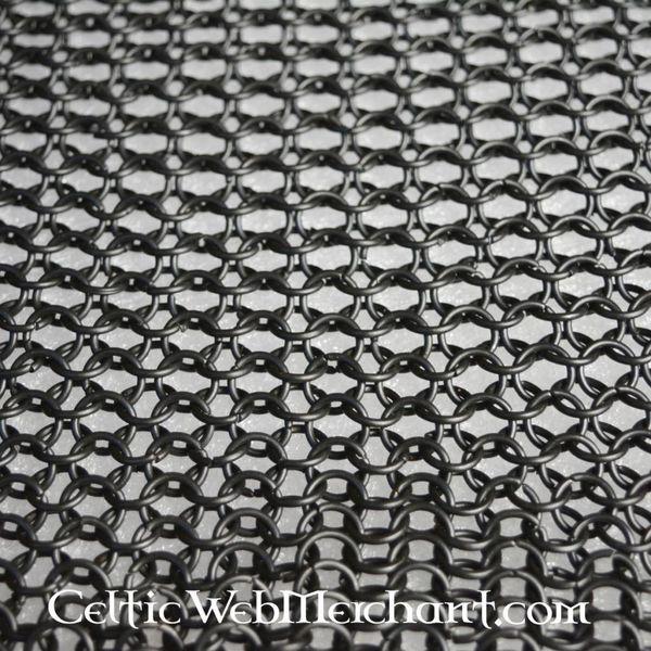 Carré de cotte de maille, bronzé, 8 mm