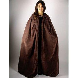 Aksamit płaszcz z wykładziną