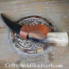 Bars titulaire de la corne avec noeuds celtiques