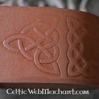 Beber soporte de cuerno con nudos celtas
