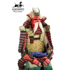 Hanwei armadura de samurai de Takeda Shingen