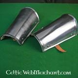 Canons d'avant bras (brassards), en acier