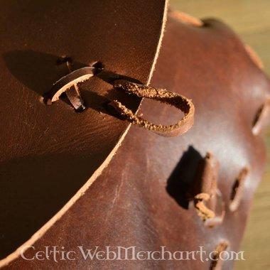 Bruine tas, 18 x 14 x 6 cm