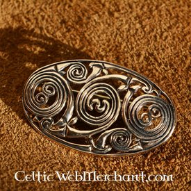 Pictic brooche with spirals