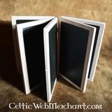 Livret de cire avec cinq tablettes