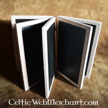 Tabla de cera con cinco tabletas