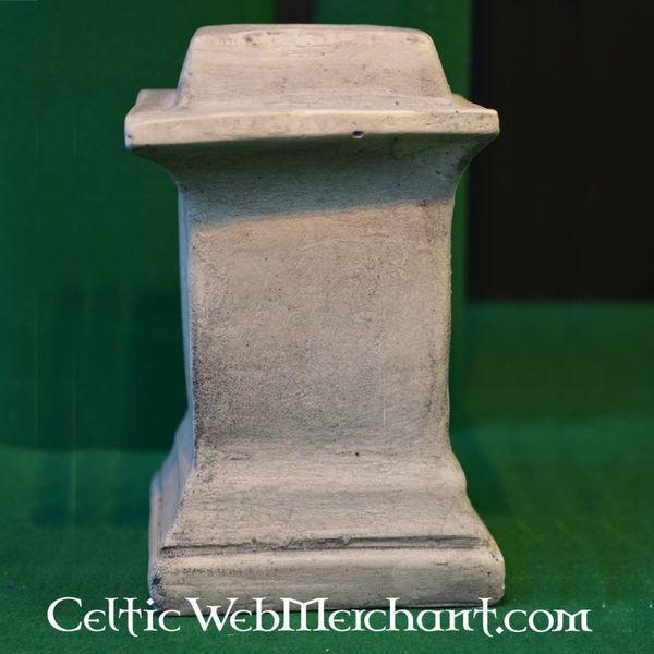 Square columna for Roman house altar