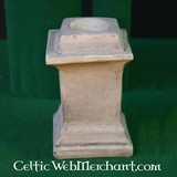 Vierkante columna voor Romeins huisaltaar