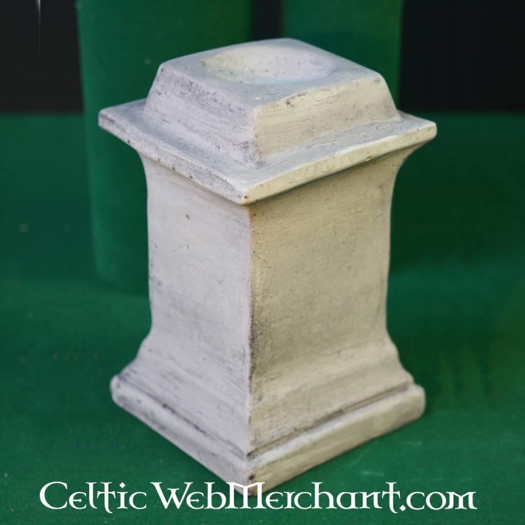 Vierkante columna voor romeins huisaltaar - Outs idee open voor levende ...