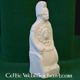 Roman votive statue goddess Minerva