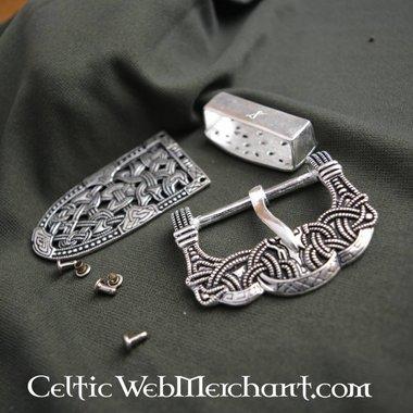 accesorios de cinturón de plata Gokstad