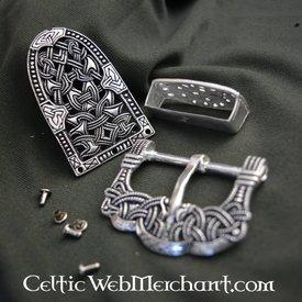 Gokstad riembeslag zilver