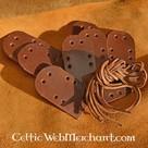 Ensemble de plaques de cuir