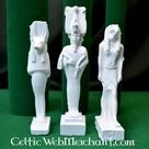 dio egiziano famiglia: Iside, Anubis e Osiride