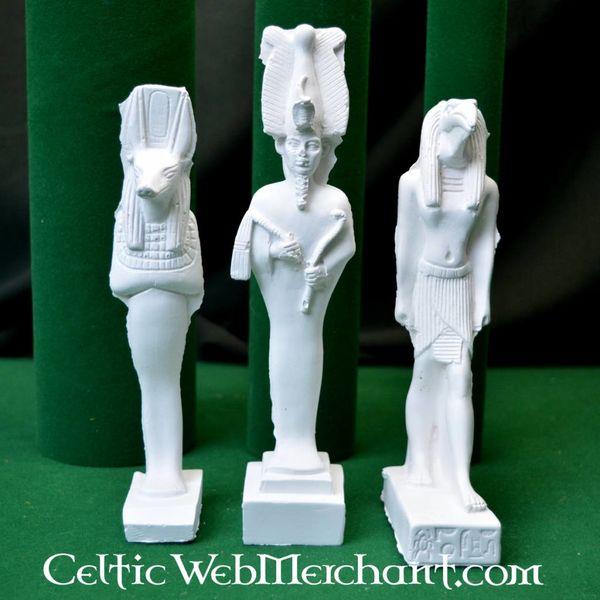 Egyptische godenfamilie, Isis, Osiris en Anubis
