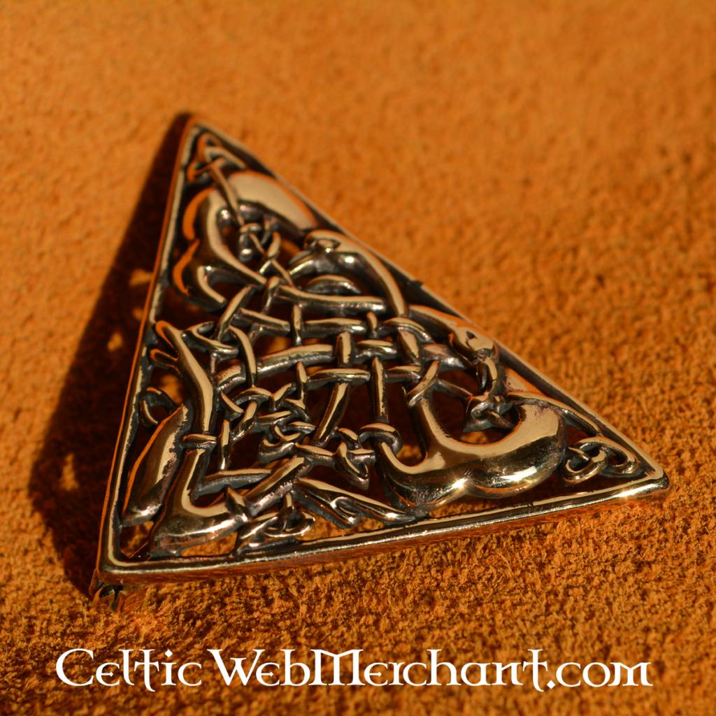 shetland jewellery celtic brooch