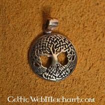 Albero della vita annodato in bronzo