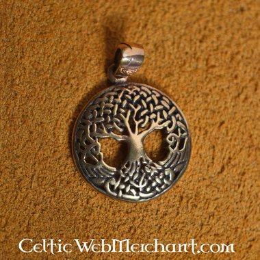 Geknoopte levensboom, brons