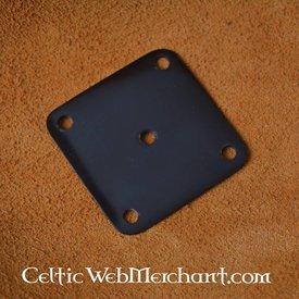 Horn weaving card