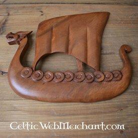 Drakkar Viking bois