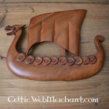 Houten Viking drakkar