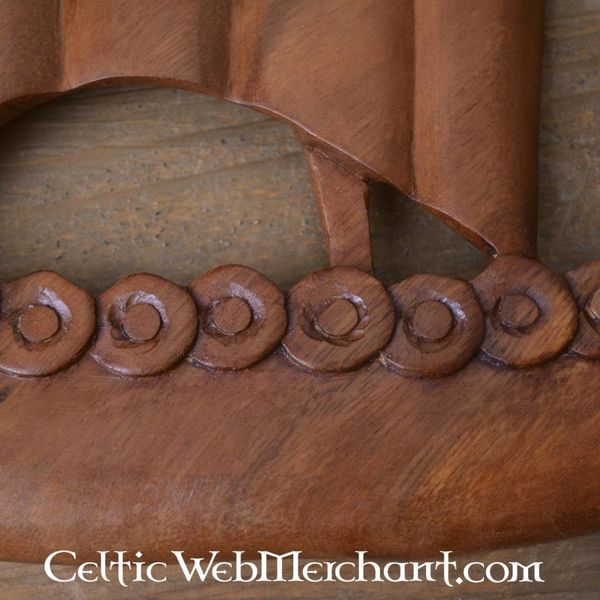 Wooden Viking drakkar