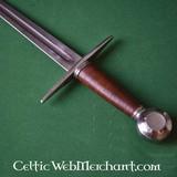 espada del caballero del siglo 13 (en la acción)