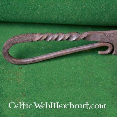 Couteau utilitaire torsadé