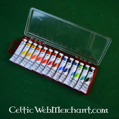 Tempera paint set