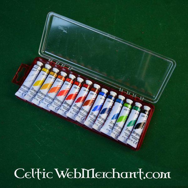 Ensemble De Peintures À La Détrempe - Celticwebmerchant.Com
