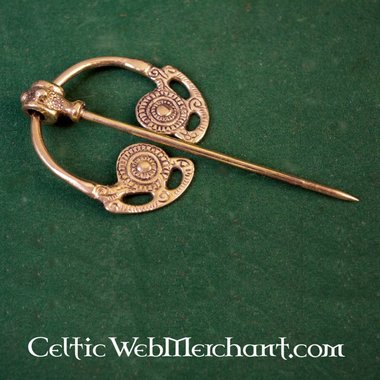 Goldsborough fibula brass