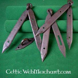 Ulfberth Raccordi bare vichinghe (2 grucce e 1 anello per la serratura)