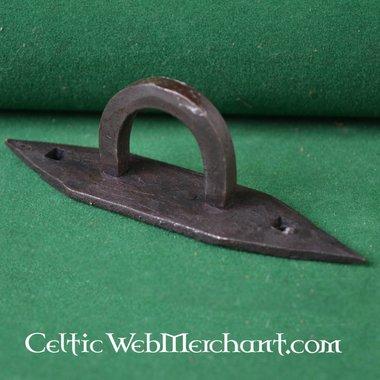 Viking kistbeslag (2 scharnieren & 1 sluiting)