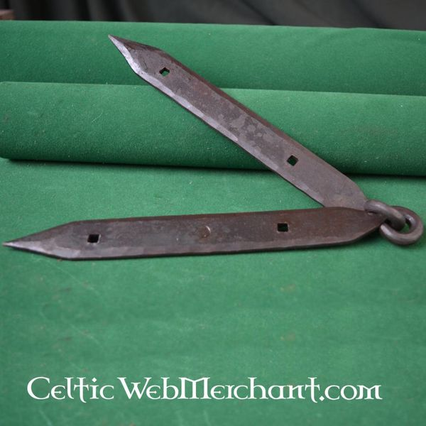 Ulfberth Viking kistbeslag (2 scharnieren & 1 sluiting)