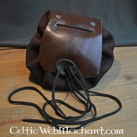 Medieval pouch velours