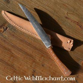Comer shisham cuchillo