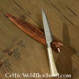 siglo 15 que come el hueso cuchillo